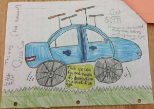 SRC Invent Blue Car