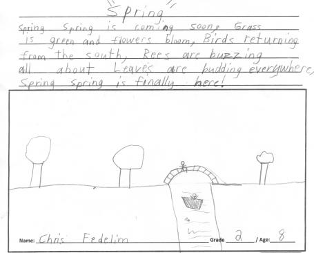 Chris Spring Poem