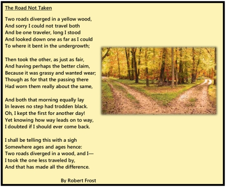 Two Roads Poem